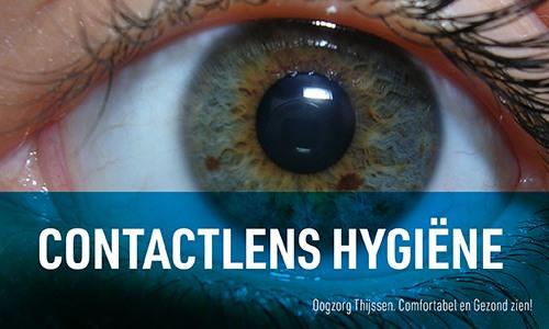 Contactlens hygiëne
